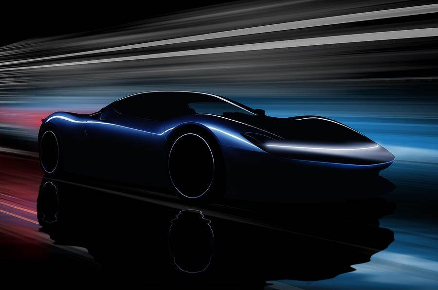 Near-production Pininfarina PF0 electric hypercar teased