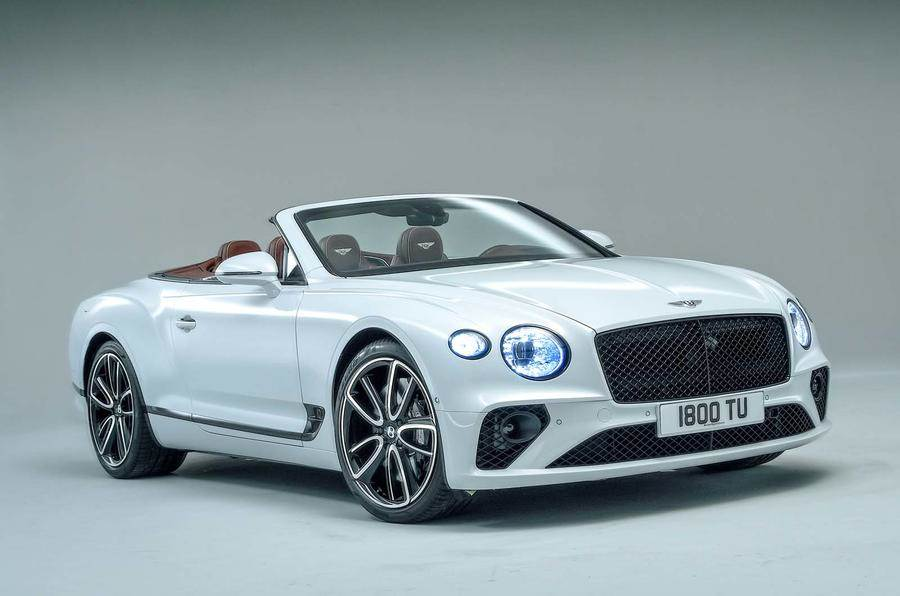 New Bentley Continental GTC revealed at LA