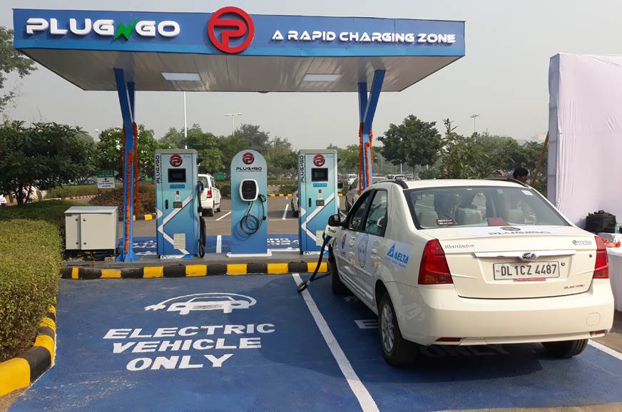 EV Motors India's first public EV charging outlet launched