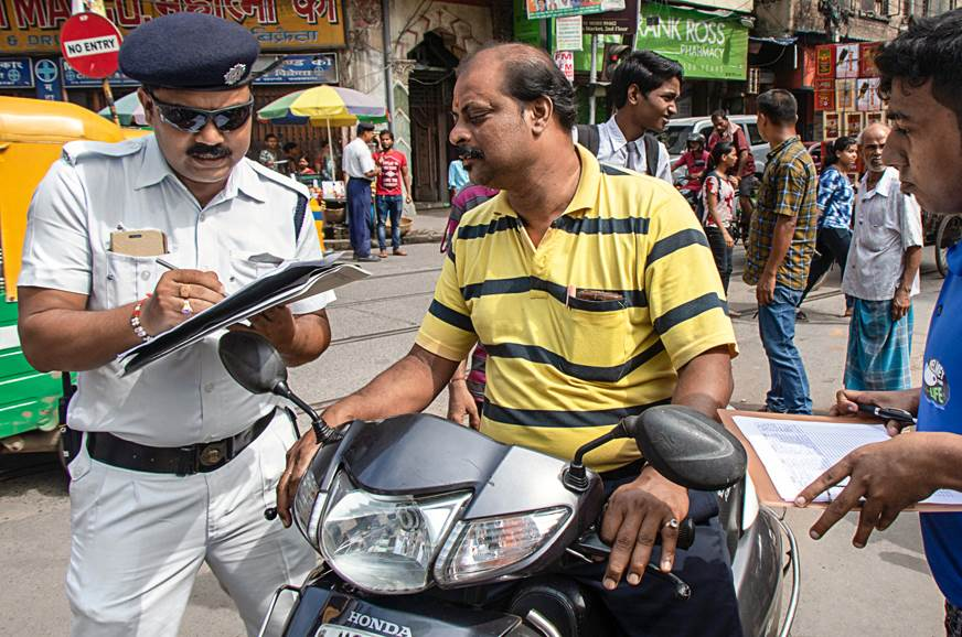 "Kolkata Police introduce ""One Time Traffic Fine Set..."