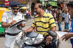 "Kolkata Police introduce ""One Time Traffic Fine Settlement Scheme"""
