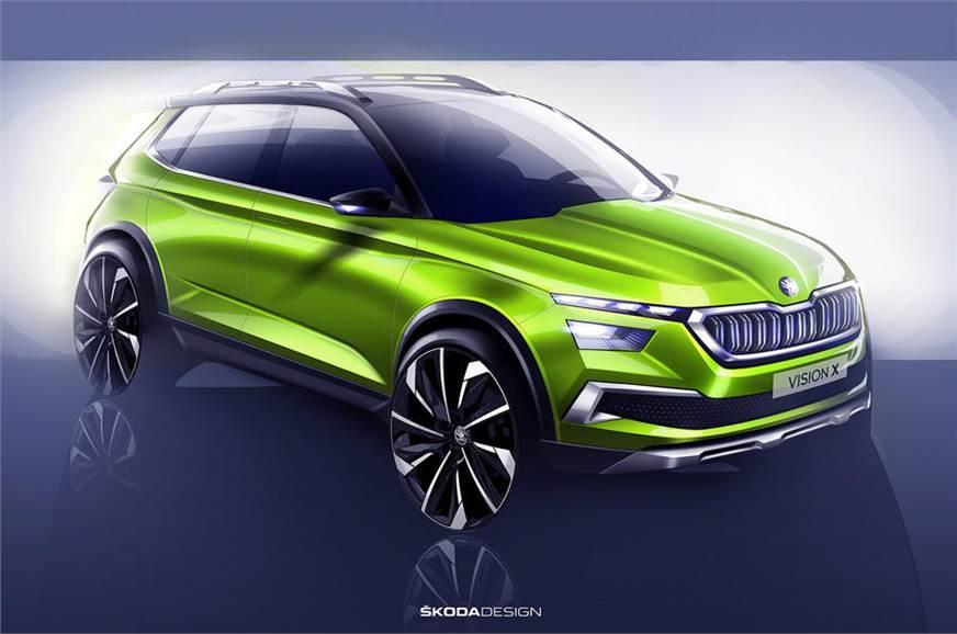 Skoda's VisionX concept SUV