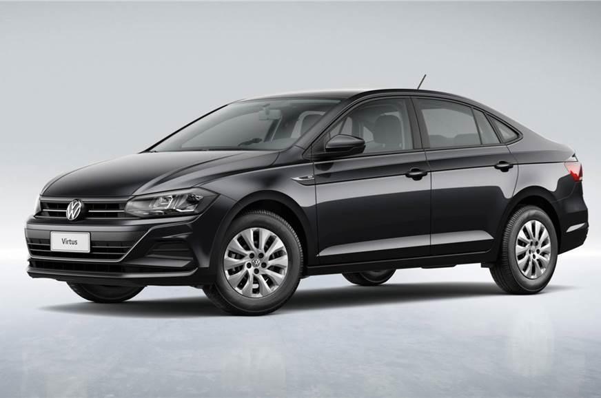 The Volkswagen Virtus sedan
