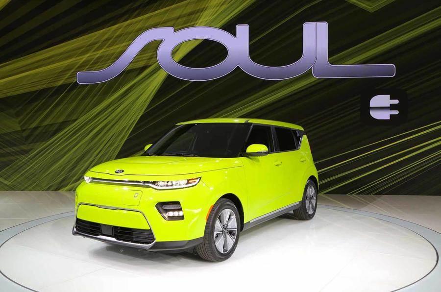 New Kia Soul EV revealed in Los Angeles
