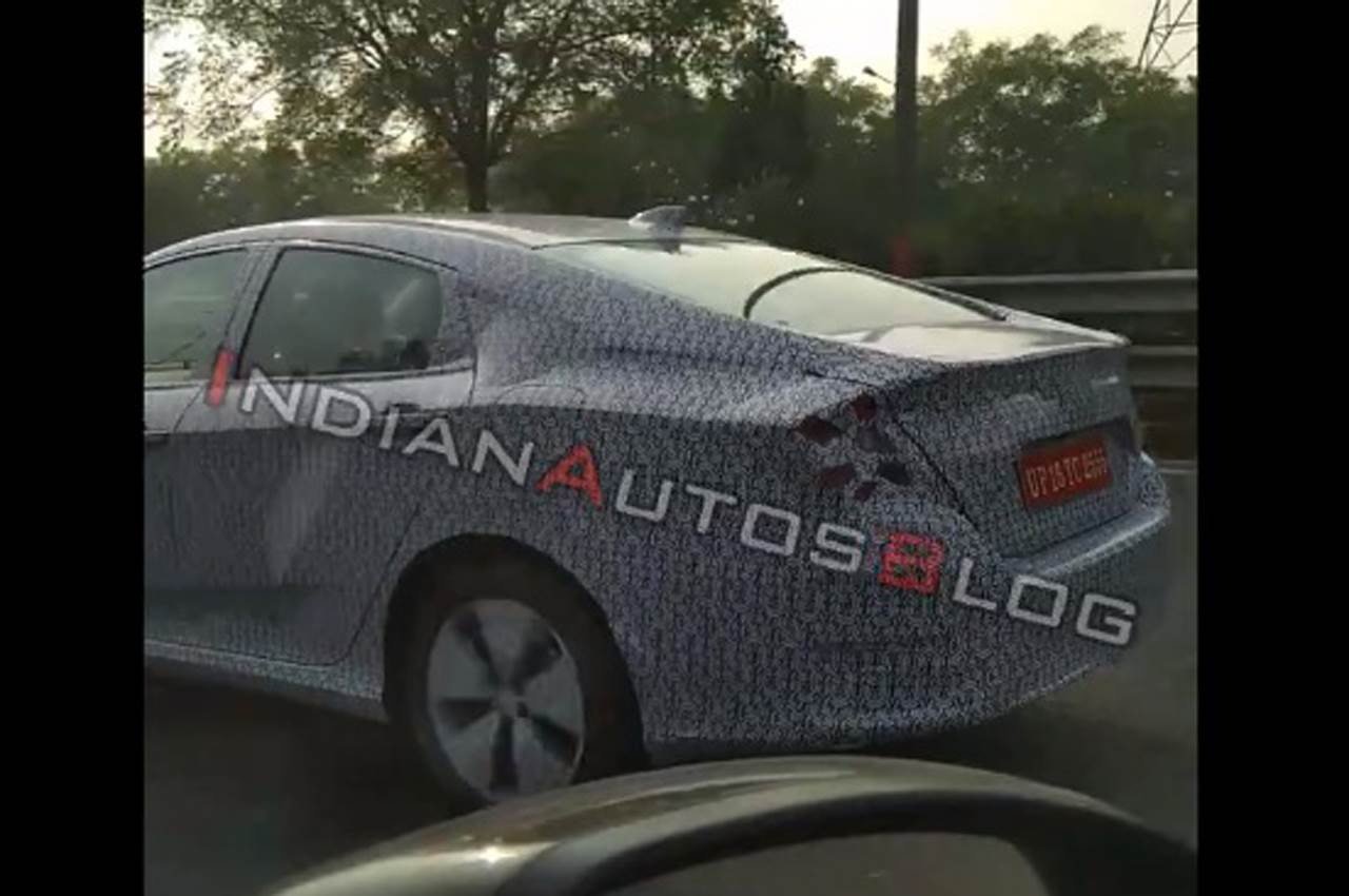 2019 Honda Civic spied in India