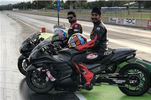 Indian riders shine at World Finals of Motorcycle Drag Racing
