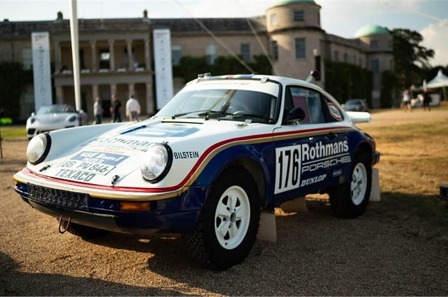 Porsche 959 Paris Dakar racer