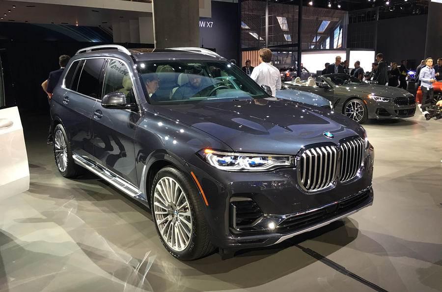 BMW X7 makes public debut at the LA motor show