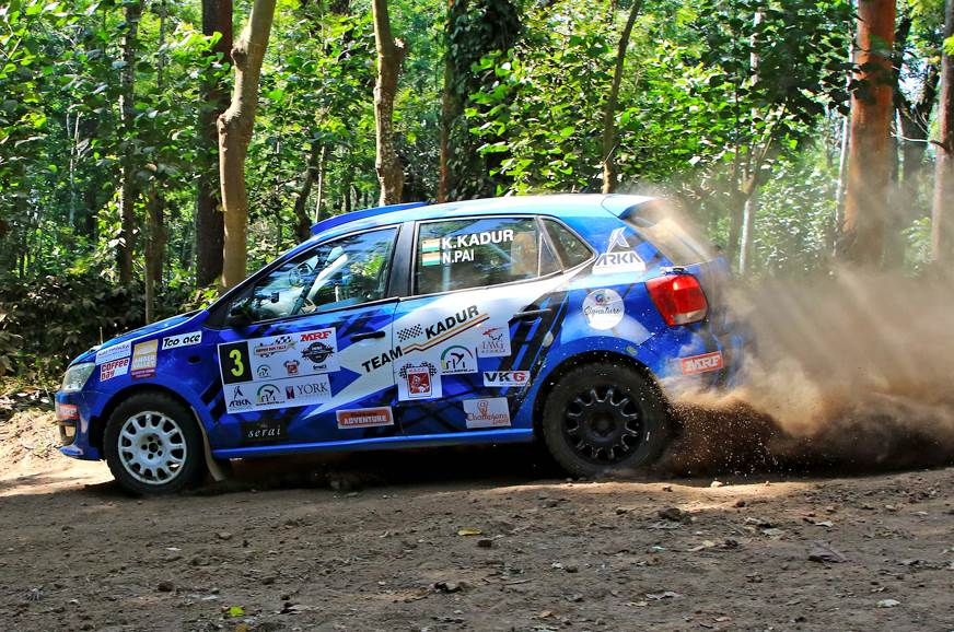 Karna Kadur, Nikhil Pai win 2018 Coffee Day India Rally