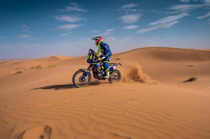 TVS confirms Aravind KP for Dakar 2019