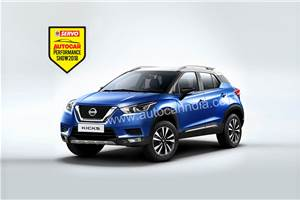 Nissan Kicks to be showcased at Autocar Performance Show 2018