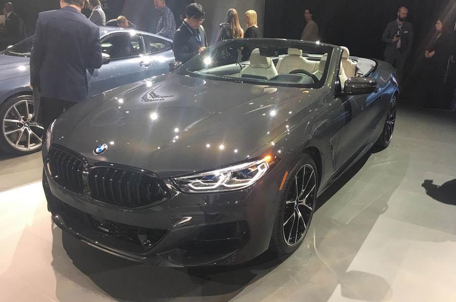 New BMW 8-series Convertible showcased in LA