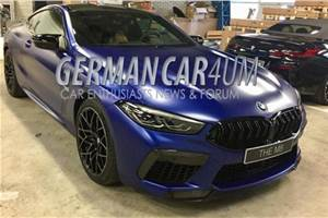 BMW M8 Competition leaked before debut