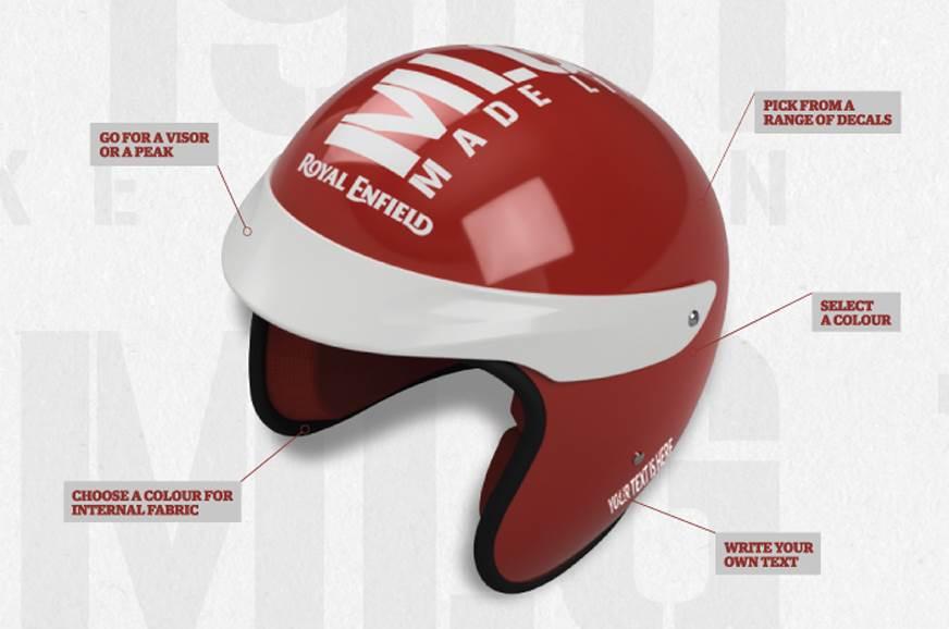 Royal Enfield announces online gear personalisation scheme