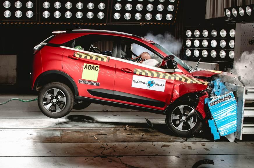 Tata Nexon secures five-star rating in Global NCAP crash tests