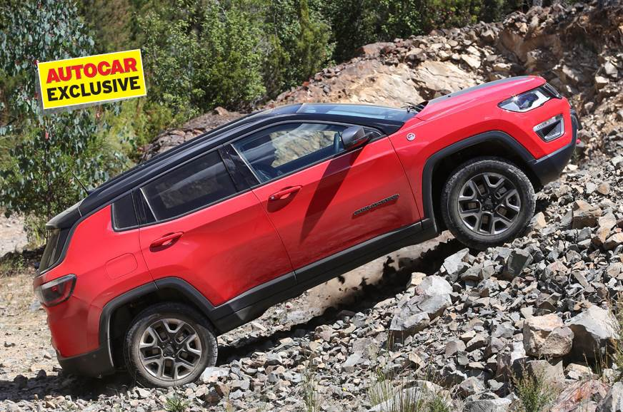 India-spec Jeep Compass Trailhawk likely to come in diesel auto only