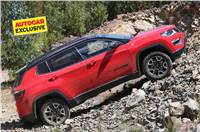 India-spec Jeep Compass Trailhawk likely to come in diese...
