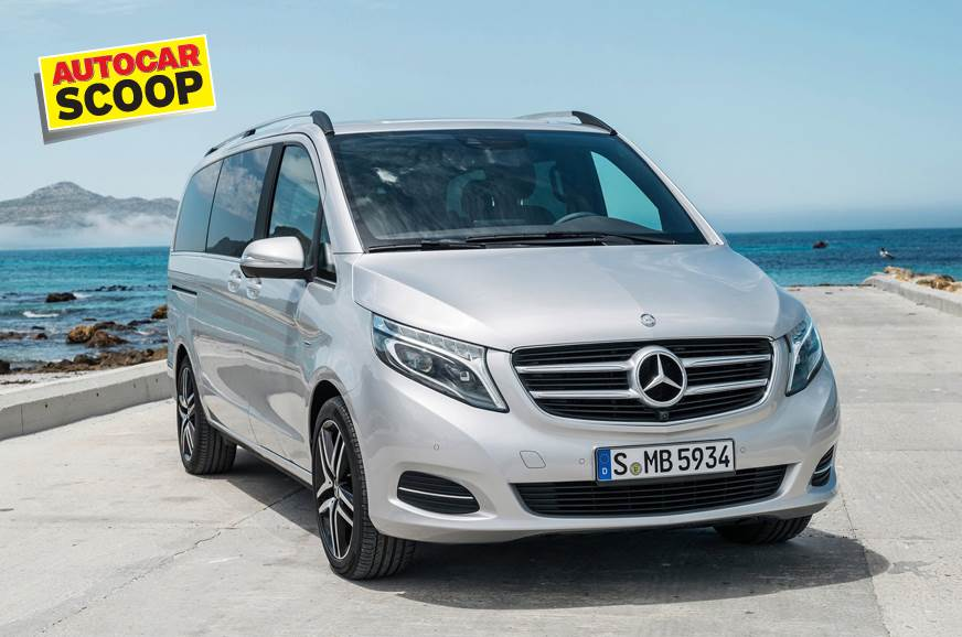 SCOOP! Mercedes-Benz V-class India launch in January 2019