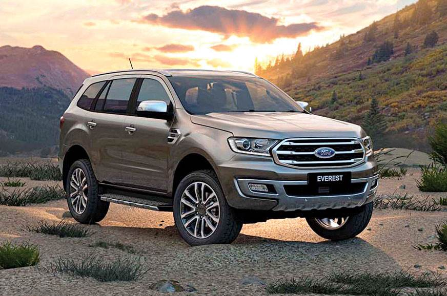 Updated Ford Endeavour to launch this month