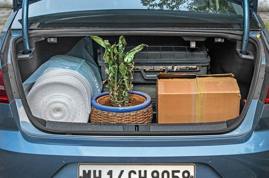 Huge 586-litre boot can hold a lot more than just bags.