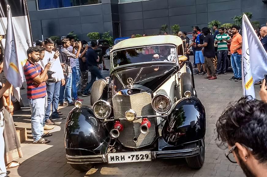 Mercedes-Benz Classic Car Rally 2018 wows Mumbai