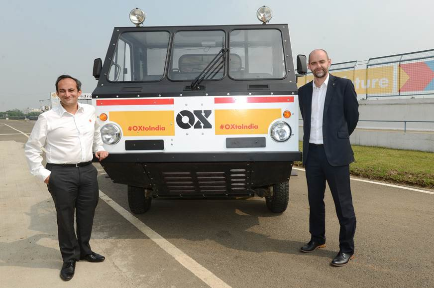 Shell brings GMD Ox flat-pack truck to India