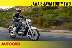 2018 Jawa, Jawa Forty Two video review