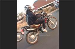 Yamaha XTZ 125 caught testing in India