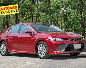 New Toyota Camry Hybrid review, test drive