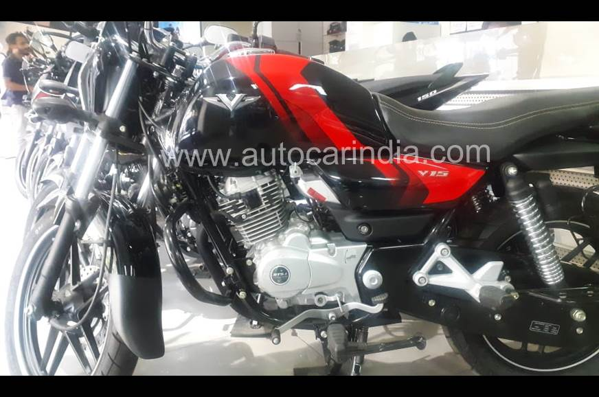 New Bajaj V15 Power Up priced at Rs 65,626