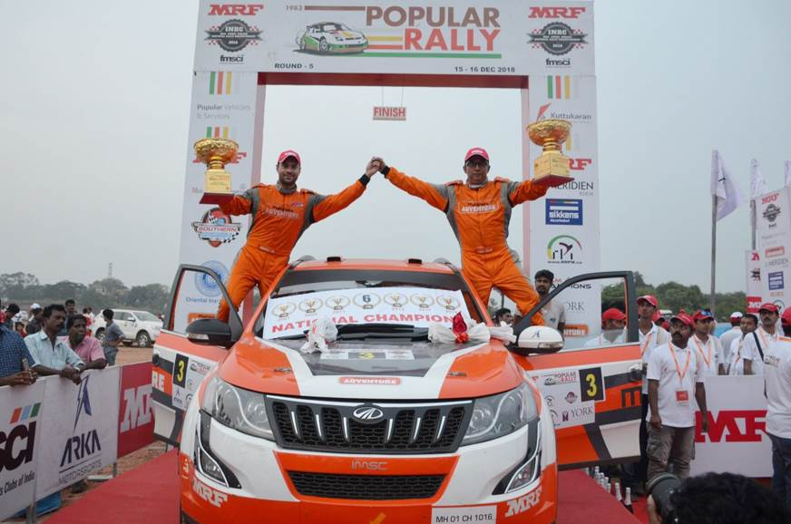 Gill clinches sixth INRC title