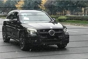Mercedes-Benz GLC facelift spied testing