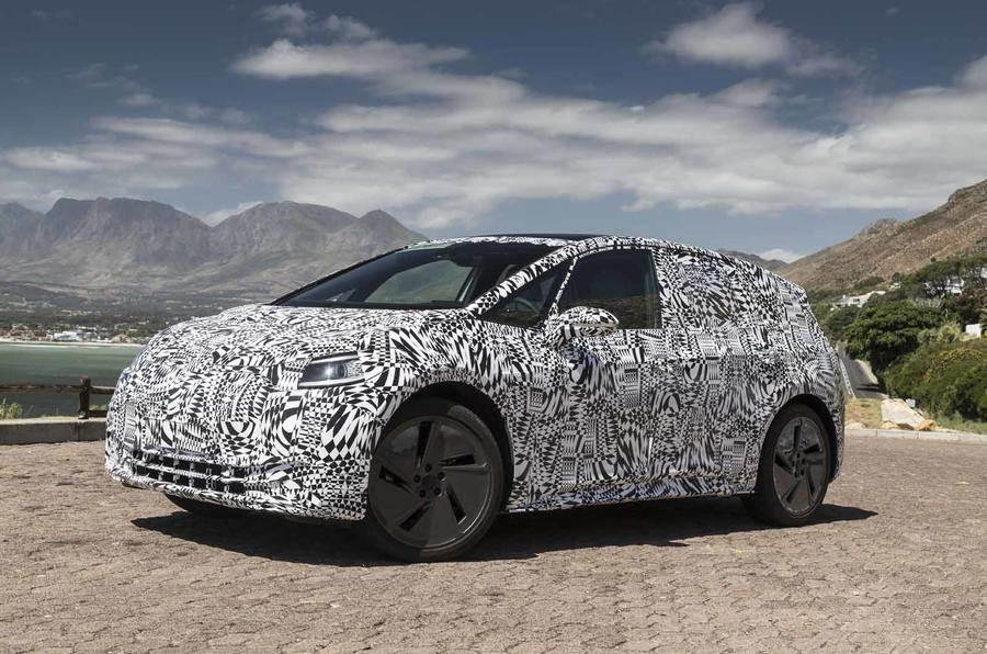 Volkswagen ID hatchback road tests begin