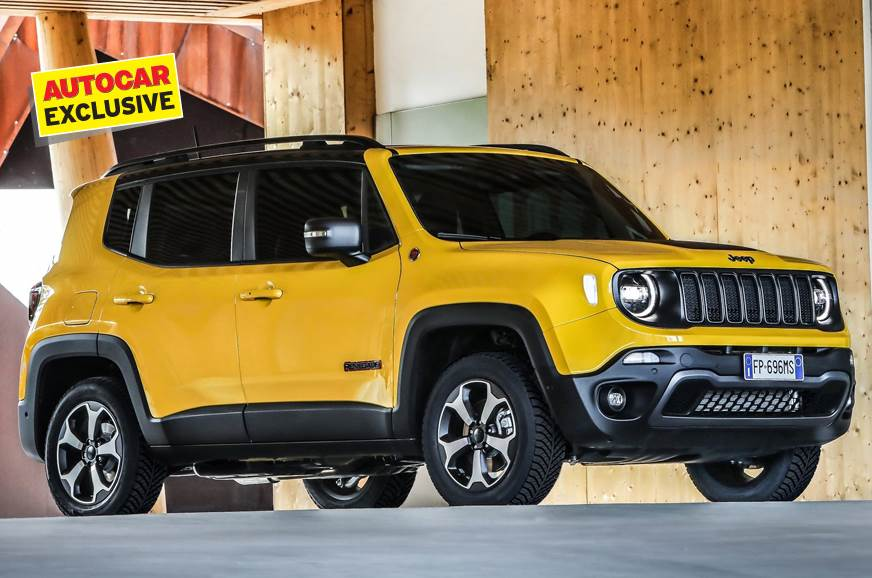 Current-gen Jeep Renegade used for representation only.