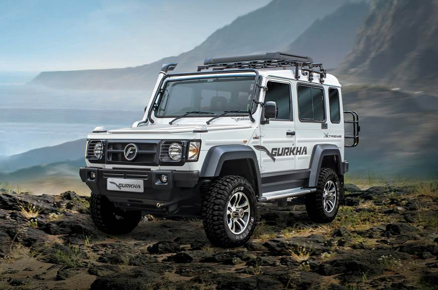 Force Gurkha Xtreme gets new engine and gearbox