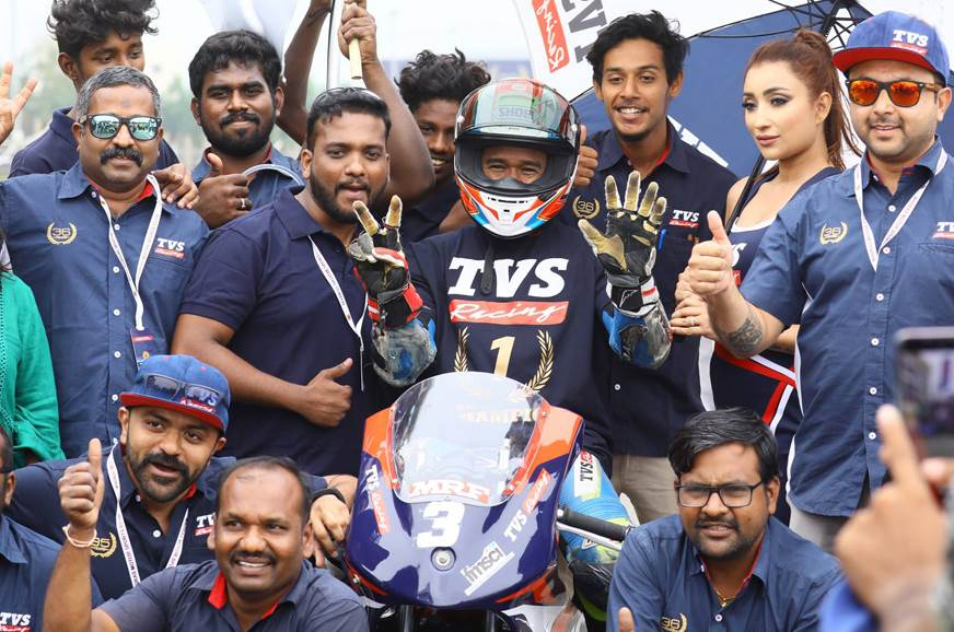 Jagan Kumar wins 7th consecutive National Championship Title