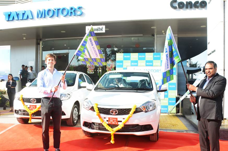 Tata Tigor EV now available to rent at Zoomcar