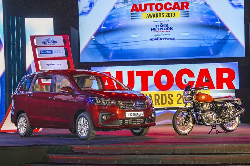 Ertiga, Interceptor 650 bag top honours at Autocar Awards 2019