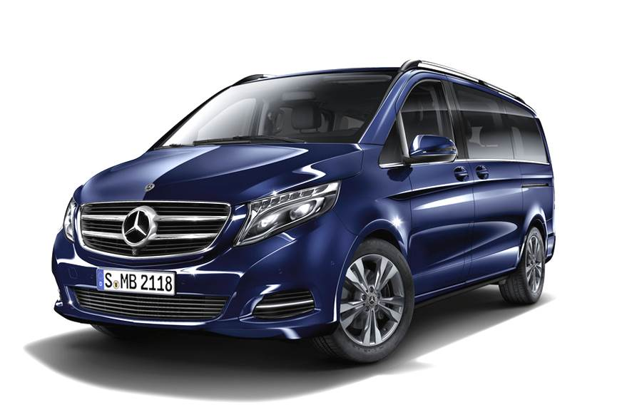 Mercedes-Benz V-class India launch on January 24, 2019