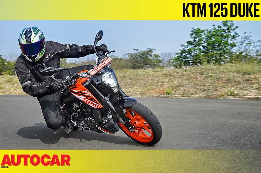 KTM 125 Duke video review