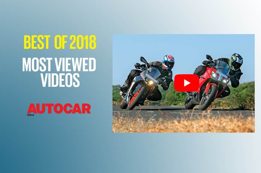 Best of 2018: Our most viewed two-wheeler comparison videos