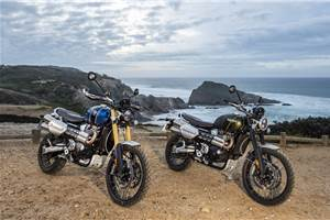 2019 Triumph Scrambler 1200 XC, XE review, test ride