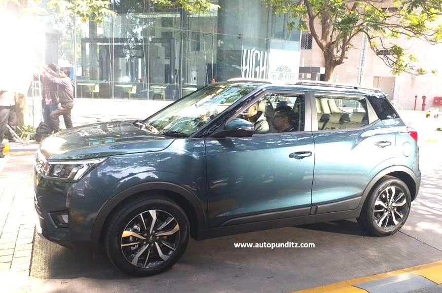 Mahindra XUV300 detailed in new images