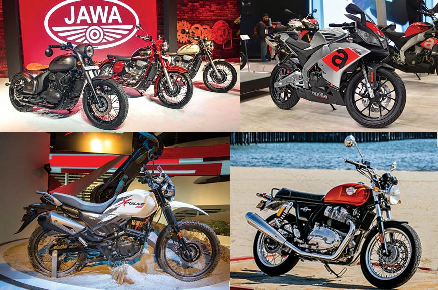 The most important two-wheeler highlights of 2018