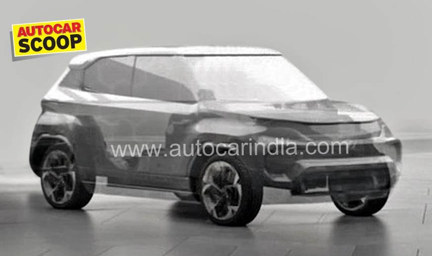 Tata Hornbill micro-SUV concept to debut at Geneva