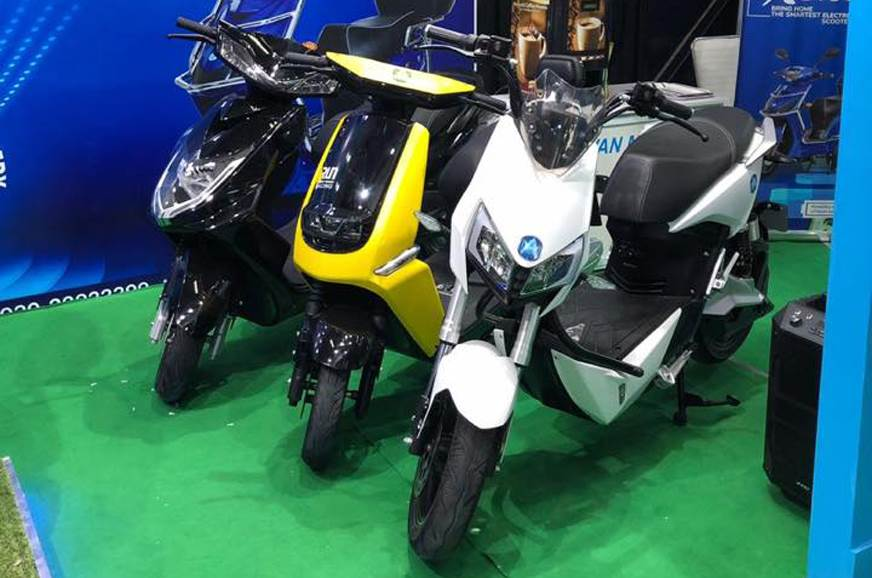 Avan Motors showcases new e-scooter line-up