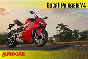 Ducati Panigale V4 video review