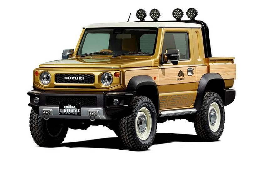 New Suzuki Jimny-based pickup to debut at Tokyo Auto Salon