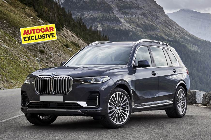 BMW X7 M50d India unveil on January 31, 2019