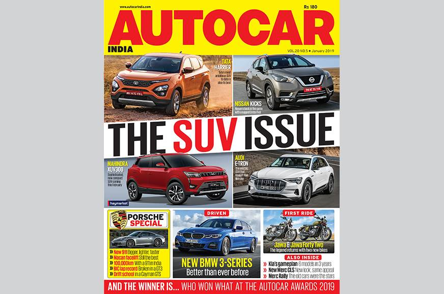 Autocar India January 2019: 'The SUV issue' - out now!